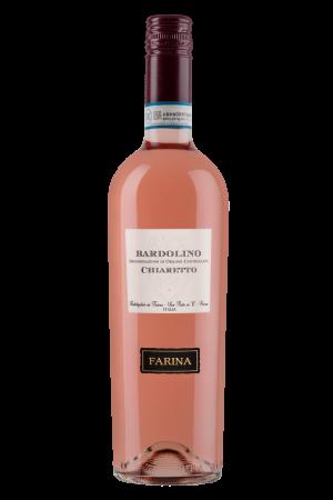 FLES FARINA BARDOLINO CHIARETTO ROSATO 0.75L-0