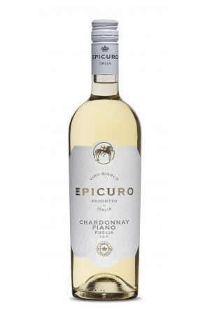 FLES EPICURO CHARDONNAY FIANO 0.75 LTR.-0