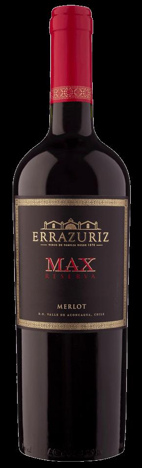 FLES ERRAZURIZ MAX RESERVA MERLOT 0,75 LTR-0
