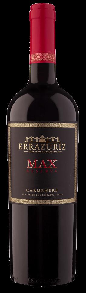 FLES ERRAZURIZ MAX RESERVA CARMENERE 0,75 LTR-0