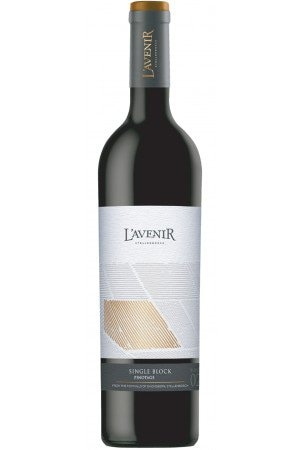 FLES LAVENIR SINGLE BLOCK PINOTAGE 0.75 LTR.-0