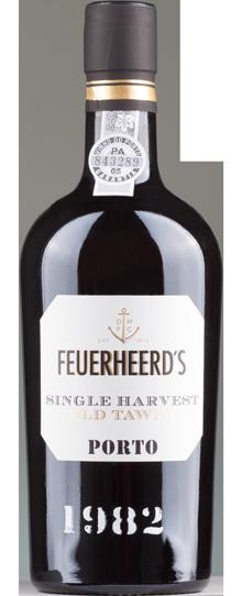 FLES FEUERHEERDS COLHEITA 1982 0.50 LTR.-0