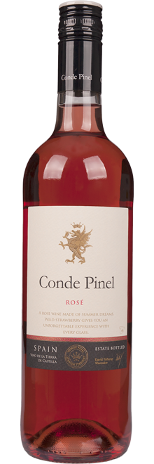 FLES CONDE PINEL ROSADO VDT 0.75 LTR.-0