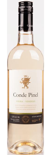 FLES CONDE PINEL VIURA-VERDEJO 0,75 LTR.-0