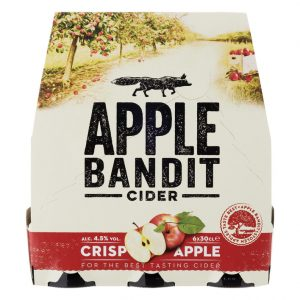 APPLE BANDIT JUICY APPLE 6X0.30LTR.-0