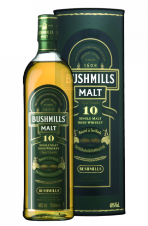 FLES BUSHMILLS SINGLE MALT 10 YRS. 0.70 LTR-0