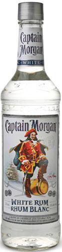FLES CAPTAIN MORGAN RUM WHITE 0,70 LTR-0
