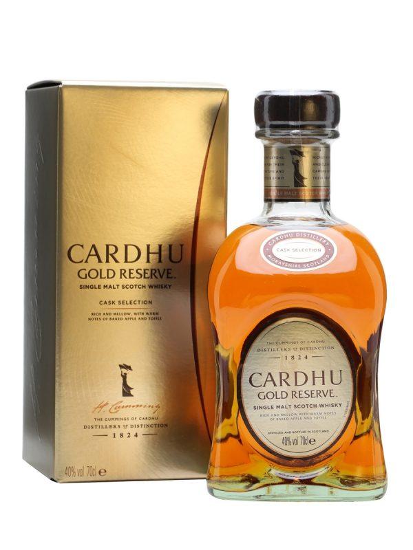 FLES CARDHU GOLD RESERVE 0,70 LTR-0