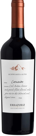 FLES ERRAZURIZ ACONCAGUA ALTO CARMEN 0,75 LTR-0
