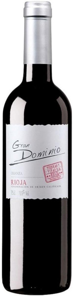 FLES GRAN DOMINIO CRIANZA RIOJA 0.75 LTR.-0