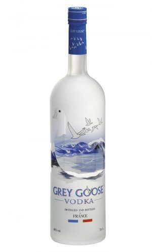 FLES GREY GOOSE VODKA 1,00 LTR-0