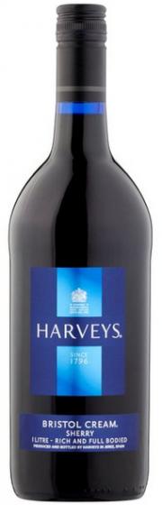FLES HARVEY'S BRISTOL CREAM 17,50 % 1.00 LTR-0