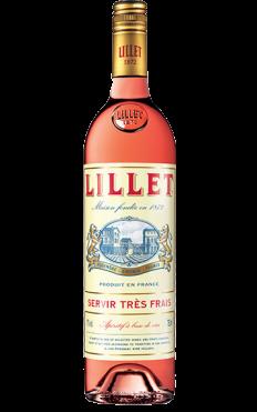 FLES LILLET ROSE 0.75 LTR.-0
