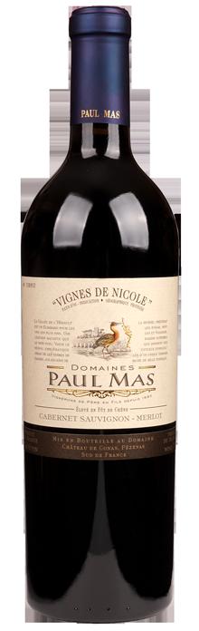 FLES PAUL MAS VIGN. DE NICOLE CAB/MERLOT 0.75L-0