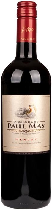 FLES PAUL MAS MERLOT 0,75 LTR-0