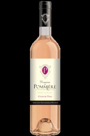 FLES DOMAINE LA POMMIERE ROSE 0.75 LTR.-3839
