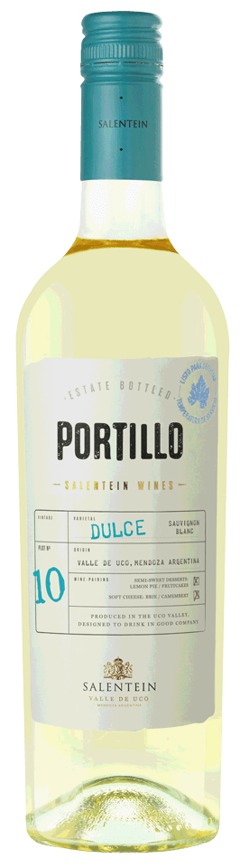 FLES PORTILLO DULCE NAT. SAUVIGNON BLANC 0.75-0