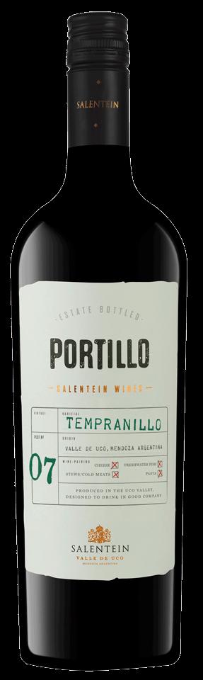 FLES PORTILLO TEMPRANILLO 0.75 LTR.-0