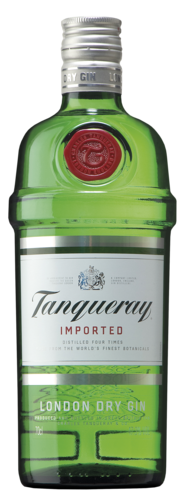 FLES TANQUERAY GIN 0,70 LTR. 43.1%-0
