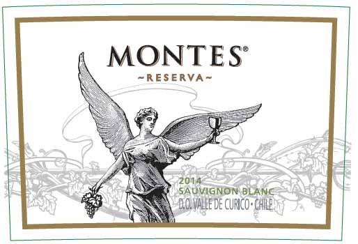 FLES MONTES RESERVA SAUVIGNON BL. 0.75 LTR.-2647
