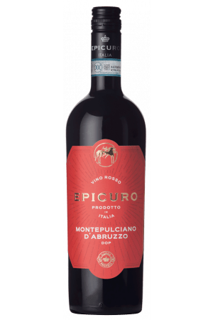 FLES EPICURO MONTEPULCIANO D'ABRU 0.75 LTR.-0