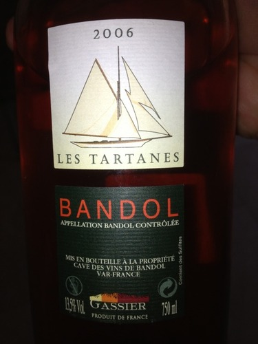 FLES BANDOL ROSE LES TARTANES 2005 0.70 LTR-0