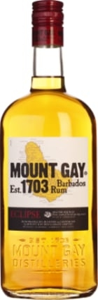 FLES MOUNT GAY RUM 0,70 LTR. 40%-0