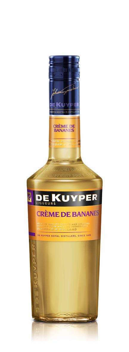 FLES DE KUYPER CREME DE BANANES 0.50 LTR-0