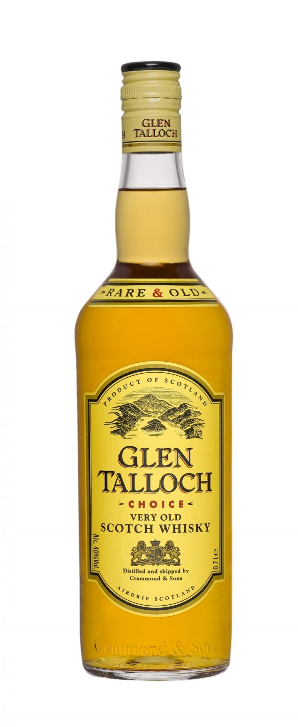 FLES GLEN TALLOCH WHISKY 1,00 LTR-0