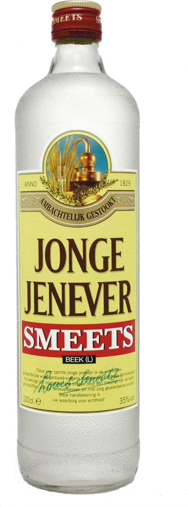 FLES SMEETS JONGE JENEVER 1.00 LTR-0