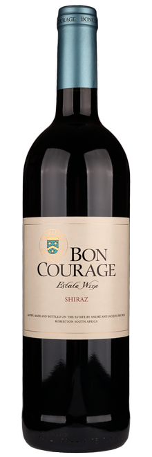 FLES BON COURAGE SHIRAZ 0.75 LTR-0