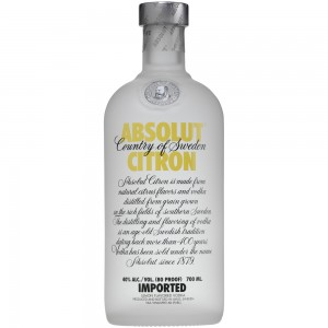 FLES ABSOLUT VODKA CITRON 0.70 LTR-0