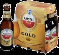 6 PAK AMSTEL GOLD BIER 6 X 0,30 LTR-0