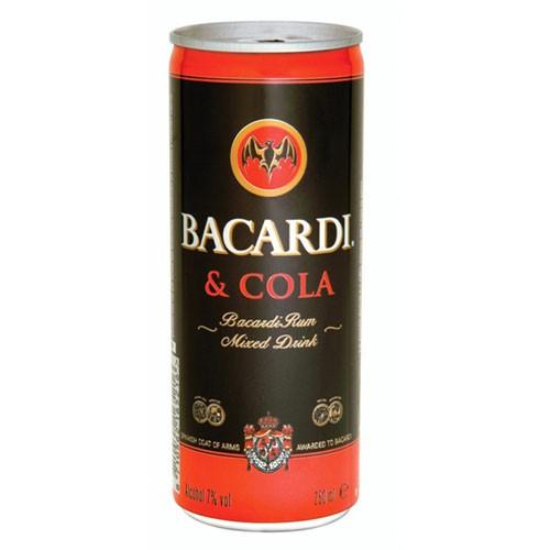 TRAY BACARDI-COLA 24 X 0.25 LTR-0