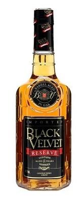 FLES BLACK VELVET RES. 8YO WHISKY 0.70 LTR-0