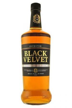 FLES BLACK VELVET WHISKY 0.70 LTR-0