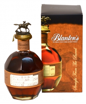 FLES BLANTON'S BARREL PROOF 64,8% 0,70 LTR.-0