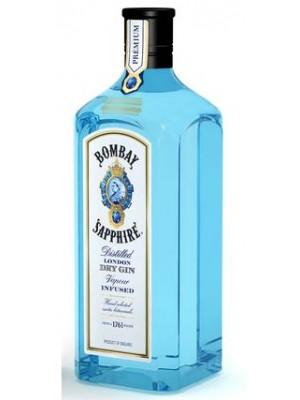 FLES BOMBAY SAPPHIRE DRY GIN 1,00 LTR-0
