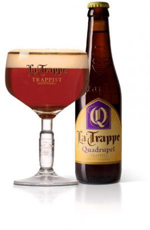 FLES LA TRAPPE QUADRUPEL 0.33 LTR-0