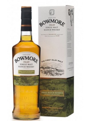 FLES BOWMORE ISLAY MALT SMALL BATCH 0.7 LTR-0