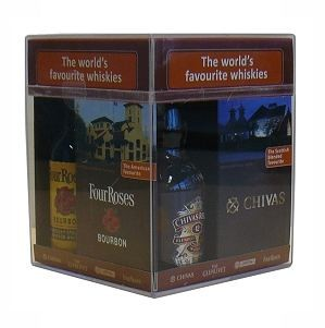 4XMINIATUUR WORLD'S FAVOURITE WHISKIES 4 X 0.05 LTR-0