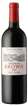 FLES CHATEAU BROWN ROUGE 2009 0.75 LTR-0