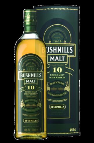 FLES BUSHMILLS MALT 10 YRS 1,00 LTR-0