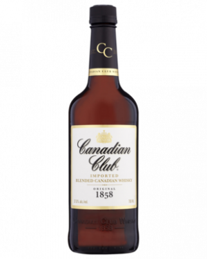 FLES CANADIAN CLUB WHISKY 0.70 LTR-0