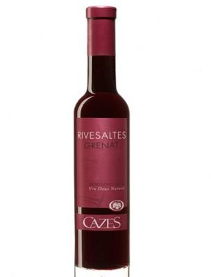 FLES CAZES RIVESALTES GRENAT ROUGE 0.375 LTR.-0