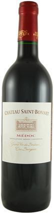 FLES CH. SAINT BONNET CRU BOURGEOIS 0.70 LTR-0