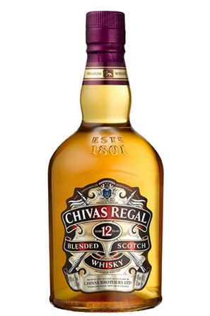 FLES CHIVAS REGAL WHISKY 0.35 LTR-0