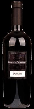 FLES CONTE DI CAMPIANO PRIMITIVO 0.75 LTR.-0
