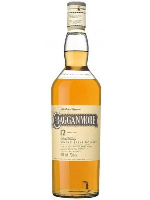FLES CRAGGANMORE MALT 12 YEARS OLD 0.7 LTR-0