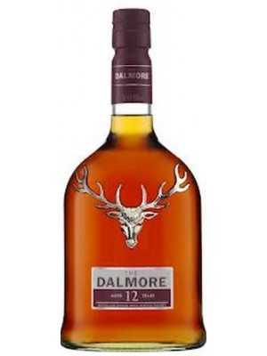 FLES DALMORE HIGHLAND WHISKEY 12 YRS 1,0 LTR-0